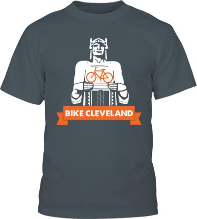 Bike Cleveland Tshirt