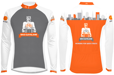 Bike Cleveland Long Sleeve Jersey