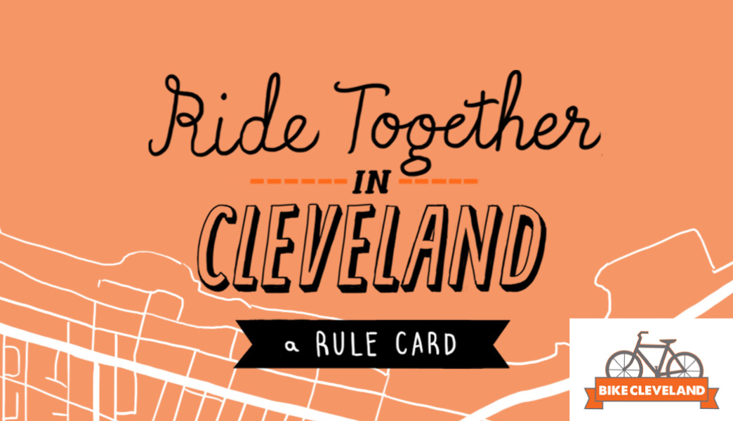Bike Cleveland Rule Card