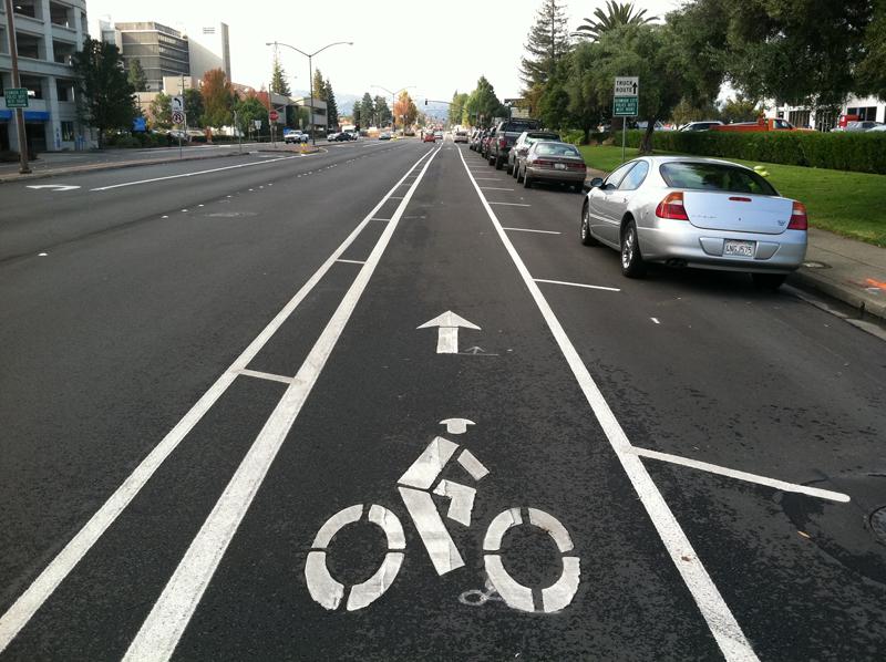 bike cleveland working for safe streets sharrows bike lanes