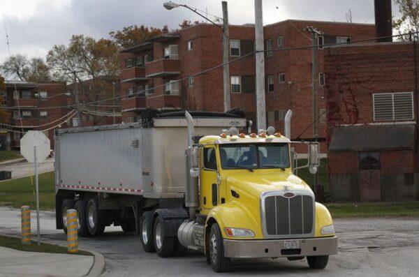 Lakeview Estates Truck Traffic
